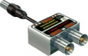 Антенный разветвитель на 2TV с вын.штекером (P2х) Connector