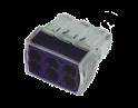 Экспресс-клемма 6*2.5 мм2 электромонтажная  REXANT(проводник Cu)