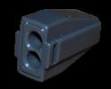 Экспресс-клемма с пастой 2*2.5 мм2 электромонтажная  REXANT