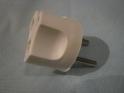 Вилка -переходник сетевой PS1-250 B6A (Itec) белый (ltec) (4051)