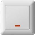 Выключатель Wessen 59 1СП с индикацией ВС116-153-18
