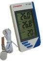 Термометр  цифровой KT-908 Измерение наружной и внутренней тем.