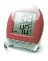 Термометр  цифровой TM1025HC красный   Измерение наружной и внут