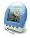 Термометр  цифровой TM1025HC синий  Измерение наружной и внутрен