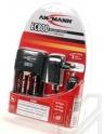 Зарядное устройство ANSMANN EC800+4 аккумулятора 2700mA