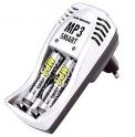 Зарядное устройство ANSMANN MP3 Smart +2 Аккумулятора 950mAh