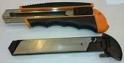 Нож хозяйственный с выдвижным лезвием БМ 809929  БМ 25х108мм